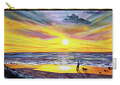 Memories Of My Father Carry-all Pouch by Laura Iverson