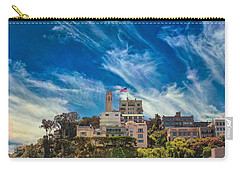 Carry-all Pouch featuring the photograph Memories Of San Francisco by John M Bailey