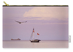 Carry-all Pouch featuring the photograph Memories Of The Lake by Heidi Hermes