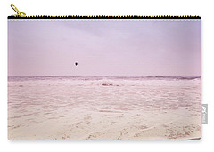 Carry-all Pouch featuring the photograph Memories Of The Sea by Heidi Hermes