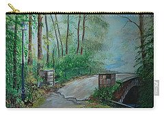 Memory Bridge Carry-all Pouch by Leslie Allen