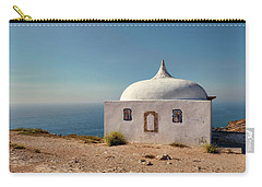 Memory Chapel Monastery On The Cliffs Of Cabo Espichel Sesimbra  Carry-all Pouch