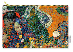 Carry-all Pouch featuring the painting Memory Of The Garden At Etten by Van Gogh