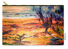 Carry-all Pouch featuring the painting Memory Pandanus by Winsome Gunning