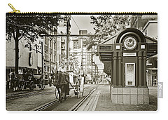 Memphis Carriage Carry-all Pouch by Liz Leyden