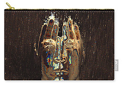 Men Are From Mars Gold Carry-all Pouch by ISAW Gallery