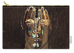 Men Are From Mars Gold Carry-all Pouch