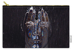 Men Are From Mars Silver Carry-all Pouch by ISAW Gallery