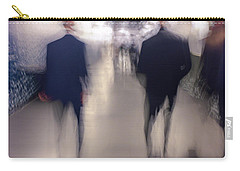 Men In Suits Carry-all Pouch by Alex Lapidus