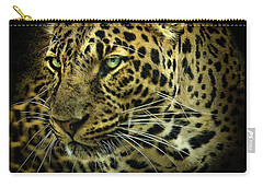 Carry-all Pouch featuring the photograph Menace by Brian Tarr