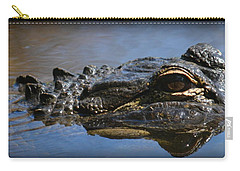 Menacing Alligator Carry-all Pouch