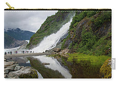 Mendenhall Waterfall Carry-all Pouch