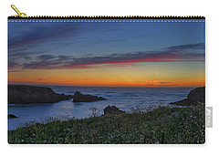 Mendocino Headlands Sunset Carry-all Pouch