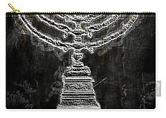 Carry-all Pouch featuring the photograph Menorah by Aaron Berg