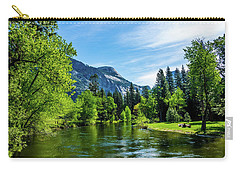 Merced River In Yosemite Valley Carry-all Pouch