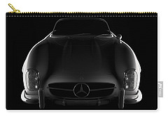 Mercedes 300 Sl Roadster - Front View Carry-all Pouch