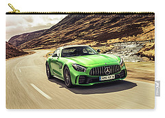 Mercedes A M G  G T  R Carry-all Pouch by Movie Poster Prints