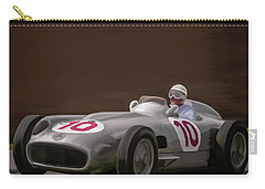 Mercedes-benz W196 Number 10 Carry-all Pouch by Wally Hampton