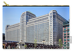 Merchandise Mart Overlooking The L Carry-all Pouch