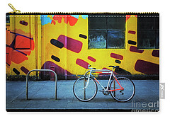 Carry-all Pouch featuring the photograph Mercury Raleigh Bicycle by Craig J Satterlee
