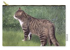 Merlin Portrait Carry-all Pouch by Rachel Stribbling