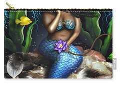 Yemaya Mermaid  Carry-all Pouch