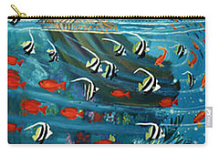 Mermaid In Paradise Carry-all Pouch