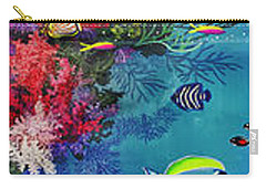 Mermaid In Paradise Complete Underwater Descent Carry-all Pouch