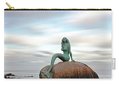 Mermaid Of The North Carry-all Pouch by Grant Glendinning