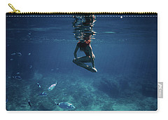 Mermaid Pose Carry-all Pouch