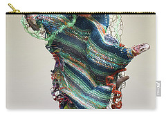 Mermaid Sculpture Carry-all Pouch