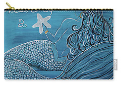 Mermaid- Wish Upon A Starfish Carry-all Pouch