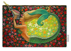 Mermaid's Circle Carry-all Pouch