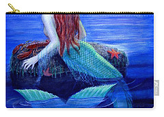 Mermaid's Dinner Carry-all Pouch