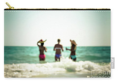 Carry-all Pouch featuring the photograph Mermaids by Hannes Cmarits