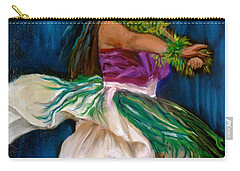 Merrie Monarch Hula Carry-all Pouch by Jenny Lee