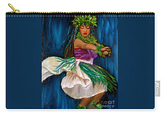 Merrie Monarch Hula Carry-all Pouch