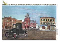 Old New England Town Carry-all Pouch