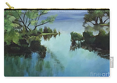 Merrimack River At Sunset Carry-all Pouch