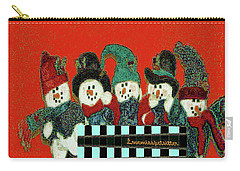 Merry Christmas Art 45 Carry-all Pouch