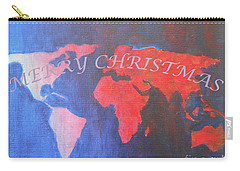 Merry Christmas World 2 Carry-all Pouch