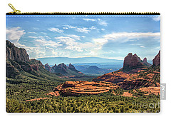 Merry Go Round Arch, Sedona, Arizona Carry-all Pouch