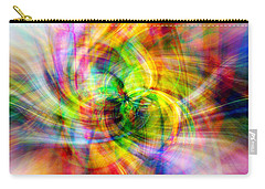 Carry-all Pouch featuring the photograph Merry Go Round by Cathy Donohoue