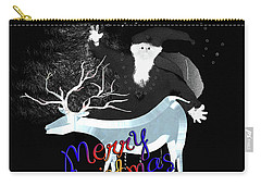 Merry Old Santa Carry-all Pouch