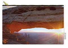 Mesa Arch, Canyonlands, Utah Carry-all Pouch