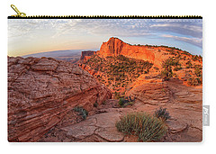 Mesa Arch Overlook At Dawn Carry-all Pouch