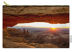 Mesa Arch Sunrise - Canyonlands National Park - Moab Utah Carry-all Pouch