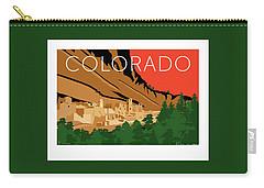 Mesa Verde Orange Carry-all Pouch
