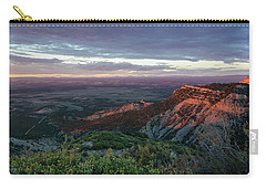 Carry-all Pouch featuring the photograph Mesa Verde Soft Light by Margaret Pitcher