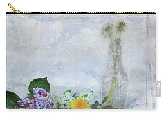 Carry-all Pouch featuring the photograph Messages Bottled In Time by Anna Louise